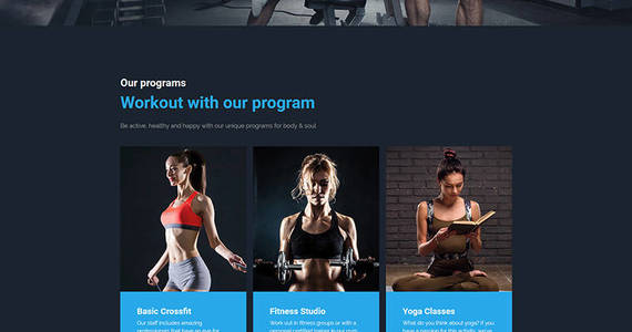 Box gympower fitness  bodybuilding premium moto cms 3 template 59455 original