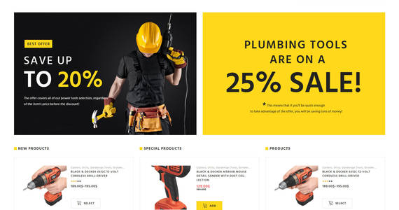 Box willard tools  hardware woocommerce theme 58679 original
