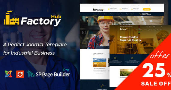 Box factory hub joomla.  large preview