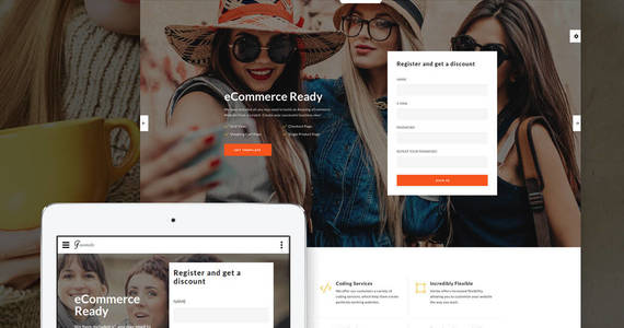 Box favorite shop landing page template 64887 original