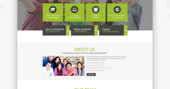 Box high school promotion wordpress theme 51770 original