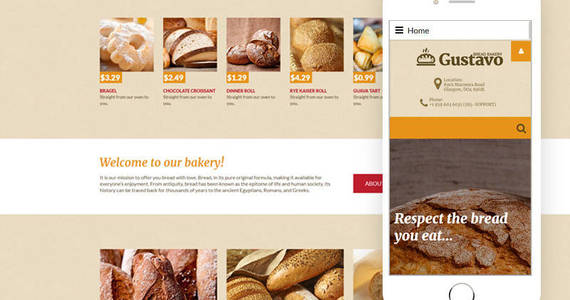 Box bakery responsive joomla template 60028 original