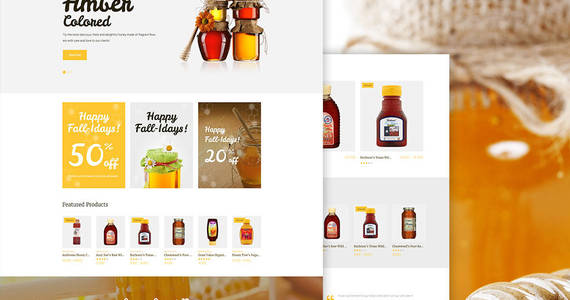 Box yummy honey store woocommerce theme 64503 original