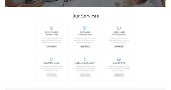 Box expace web development multipage clean html website template 51408 original