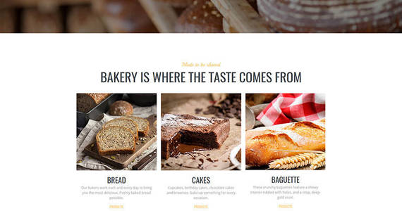 Box bakery premium moto cms 3 template 64213 original