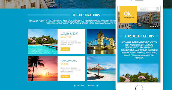 Box travel company joomla template 45159 original