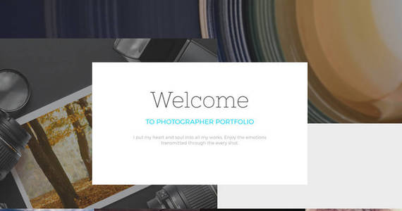Box photographer portfolio responsive joomla template 57793 original