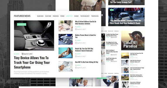 Box newsmaker news blog multipurpose modern elements wordpress theme 65370 original
