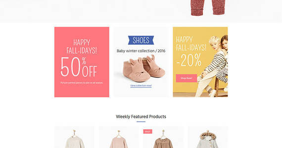 Box baby store responsive motocms ecommerce template 65059 original