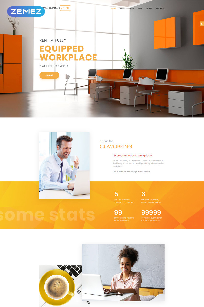 Office responsive joomla template 65009 original