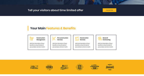 Box construction motocms 3 landing page template 67955 original
