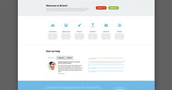 Box brians consulting multipurpose classic elementor wordpress theme 54575 original