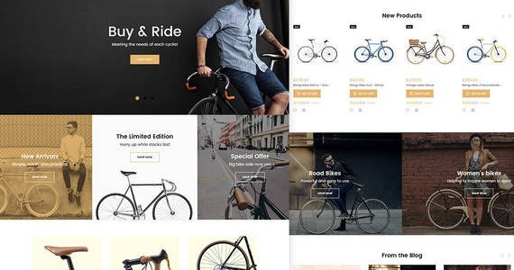 Box magetique bikes magento theme 63513 original