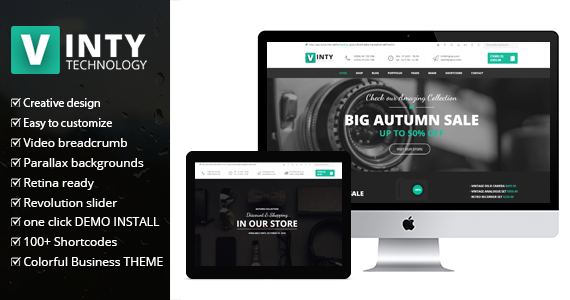 Box vinty woocommerce theme featured.  large preview