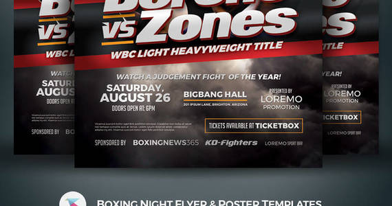Box 1681934 1566262742186 01 template monster boxing night flyer poster templates kinzi21