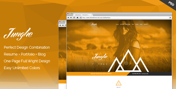 01 junghe onepage portfolio theme screen.  large preview