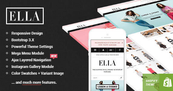 Box ella shopify template preview.  large preview
