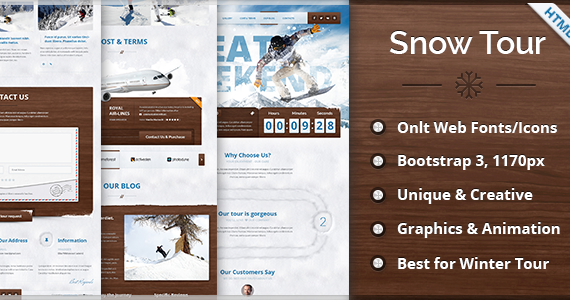 Box 00 main snowtour html preview.  large preview
