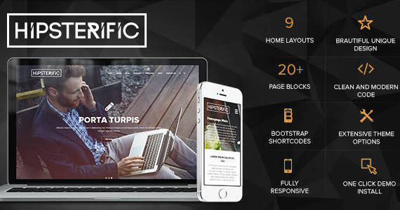 Box 01 hipsterific responsive multi purpose wp theme.  large preview