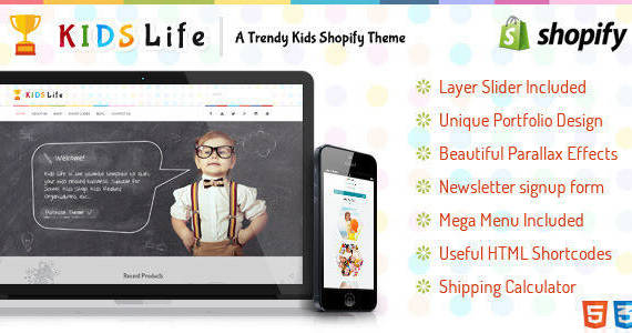 Box kids life shopify.  large preview