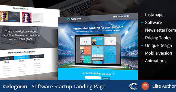 Box 01 instapage landing template app software.  large preview