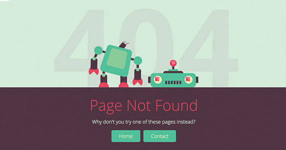 Box 404 and other error pages.  large preview