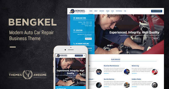 Box bengkel feature themeforest.  large preview